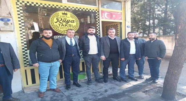 Kilis'te MHP'lilerden taksicilere ziyaret