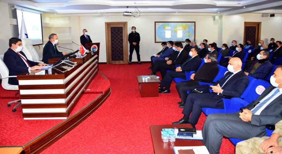 Ardahan'da afete hazırlık toplantısı yapıldı