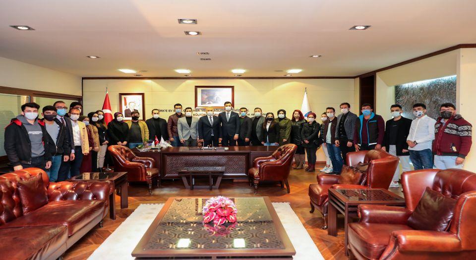 AK Parti Gençlik'ten Başkan Zolan'a ziyaret