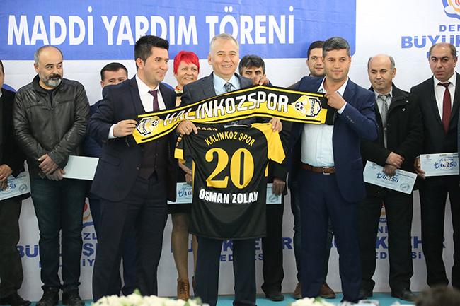 1 1014 - Büyükşehir'den 97 Amatör Spor kulübüne 900 Bin TL Destek