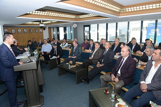 1 1034 - Denizli Ticaret Odası Şubat ayı Meclis Toplantısı yapıldı
