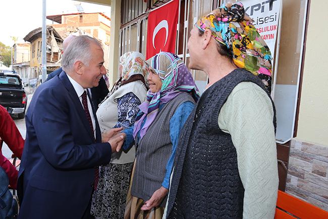 1 1286 - Başkan Zolan'dan Sarayköy'e Müjde