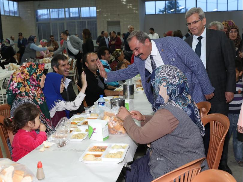 1 137 - Milletvekili Şahin Tin, Acıpayam'da Hemşehrileri İle Buluştu