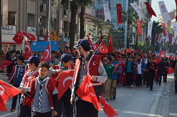 1 1496 - Denizli'den vefa yürüyüşü