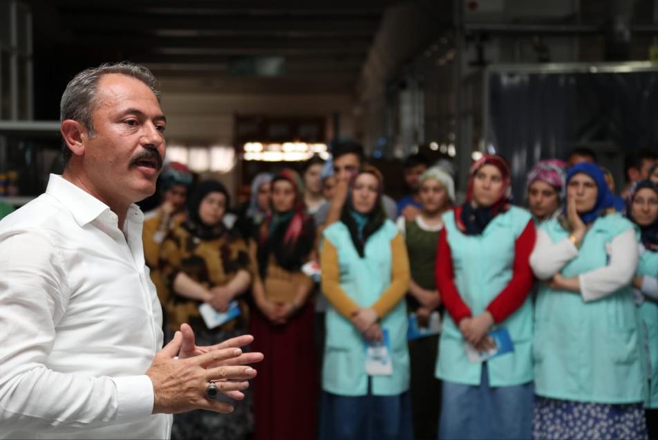 1 151 - AK Partili Şahin Tin'den Vatandaşlara Sandık Çağrısı