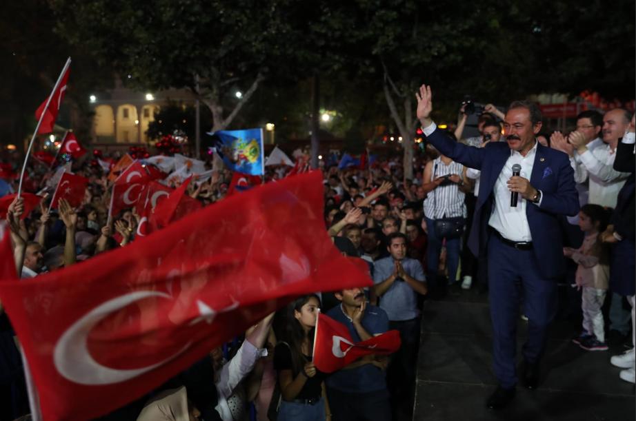 1 152 - AK Parti Denizli Milletvekili Şahin Tin'den seçim değerlendirmesi