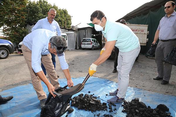 1 2167 - Büyükşehir kömür denetimlerine başladı