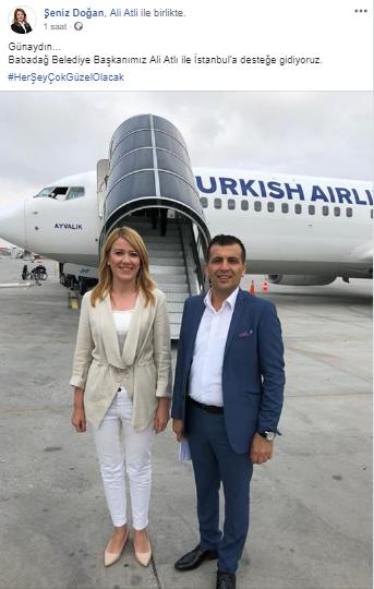 1 218 - İmamoğlu'na Destek İçin İstanbul'a Uçtular