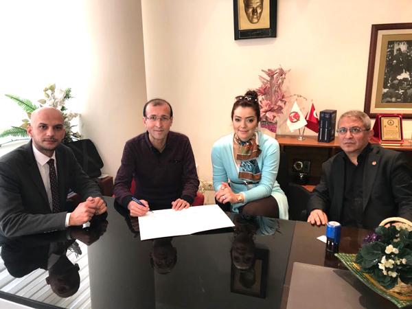 1 2884 - DGC-DENİPOL Hastanesi ile protokol imzaladı