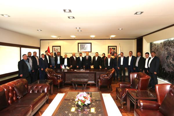 1 2888 - AK Parti Honaz İlçe Teşkilatı'ndan Başkan Zolan'a Ziyaret