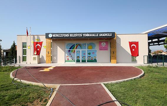 1 322 - Merkezefendi Belediyesi inşaatı tamamladı