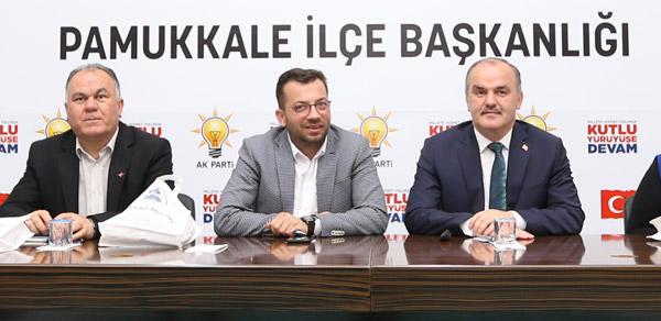 1 3266 - AK Parti Pamukkale İlçe Teşkilatı Yönetim Kurulu Toplantısı