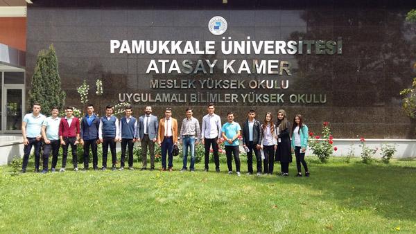 1 3479 - Çivril'deki Lise Öğrencilerine Pamukkale Üniversitesi Tanıtıldı