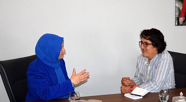 1 3487 - İYİ Parti Denizli Milletvekili Aday Adayı Türkarslan: Diyanet Bağımsız Olmalı