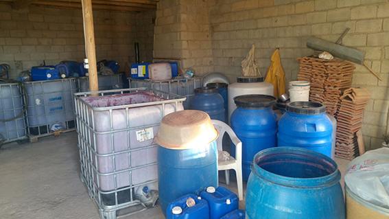 1 366 - Bekilli'de 13 ton kaçak şarap ele geçirildi