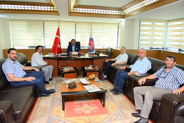 1 3719 - DTO Başkanı Uğur Erdoğan'ın her günü dolu dolu geçiyor