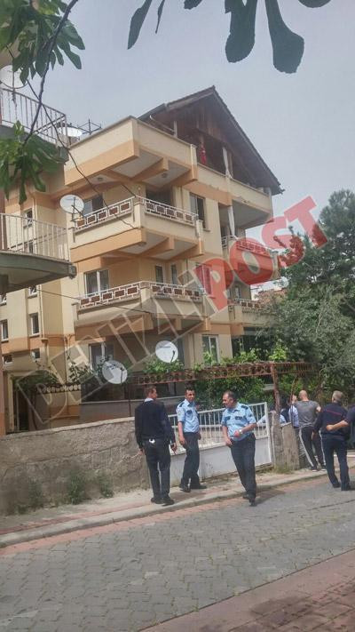 11 67 - Mehmetçik Mahallesi'nde Yangın