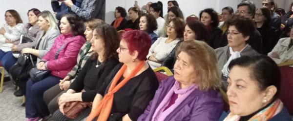 11 95 - CHP Denizli Kadın Kolları İl Başkanı Melek Akdemir: 2019'un ilk on ayında 383 Kadın öldürüldü