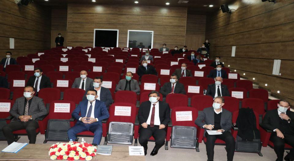 Siirt'te İl İstihdam ve Mesleki Eğitim Kurulu toplandı
