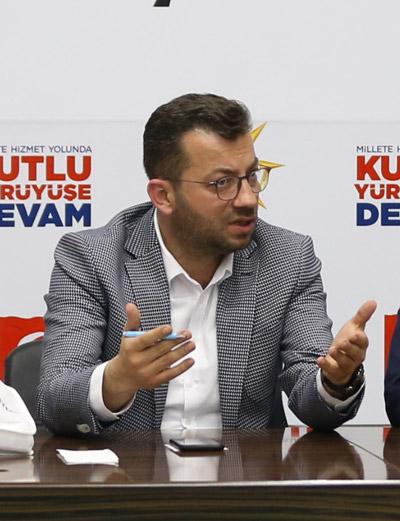2 2099 - AK Parti Pamukkale İlçe Teşkilatı Yönetim Kurulu Toplantısı