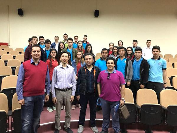 2 2259 - Çivril'deki Lise Öğrencilerine Pamukkale Üniversitesi Tanıtıldı