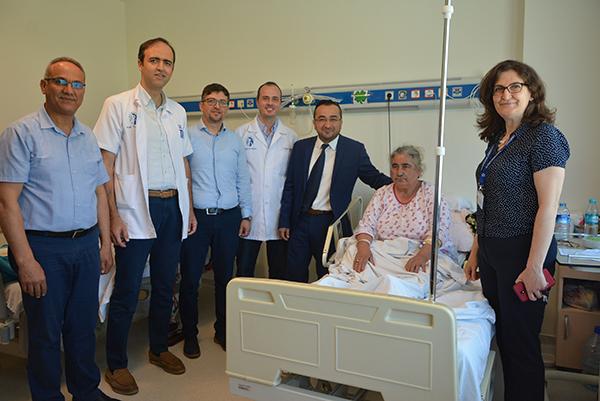 2 2358 - PAÜ Hastanesinde Bayramlaşma