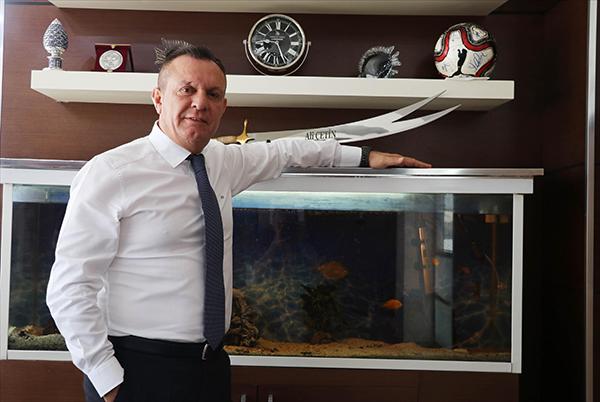 """2 2492 - Denizlispor Başkanı Çetin: """"Süper Lig'de hedefimiz ilk 5"""""""