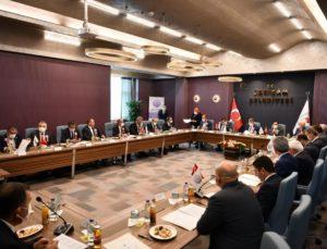 Başkan Şevik, MİS Yönetiminde