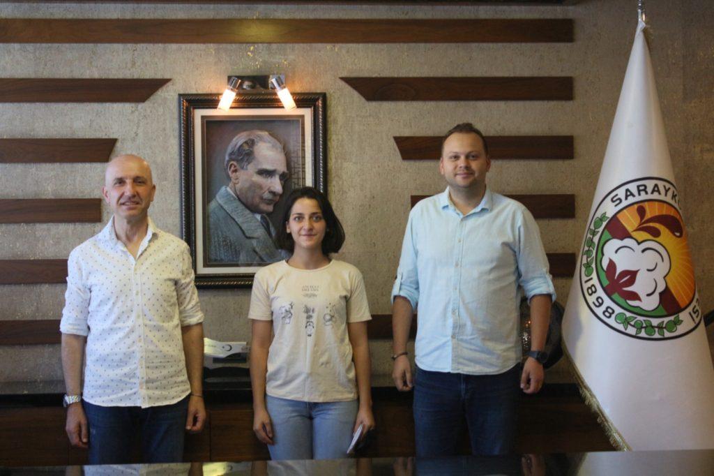 2 2665 1024x682 - Sarayköy Belediyesi'nin genç kursiyeri Zeynep, hayallerine kavuştu