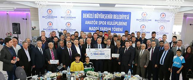 2 516 - Büyükşehir'den 97 Amatör Spor kulübüne 900 Bin TL Destek