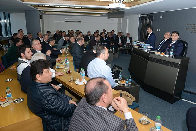2 526 - Denizli Ticaret Odası Şubat ayı Meclis Toplantısı yapıldı