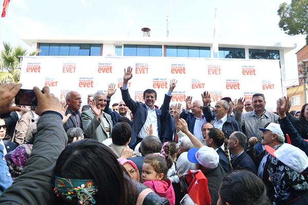 2 690 - Zeybekci, Kale, Sarayköy ve Babadağ'da vatandaşlarla buluştu