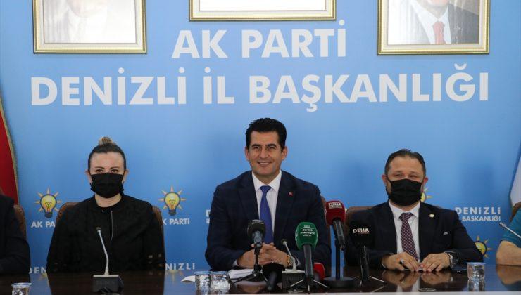 AK Parti Denizli İl Başkanı Yücel Güngör, basın mensuplarıyla buluştu