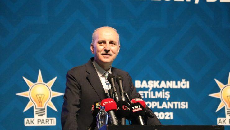 Kurtulmuş, Denizli'de AK Parti Genişletilmiş İl Danışma Meclisi Toplantısı'nda konuştu