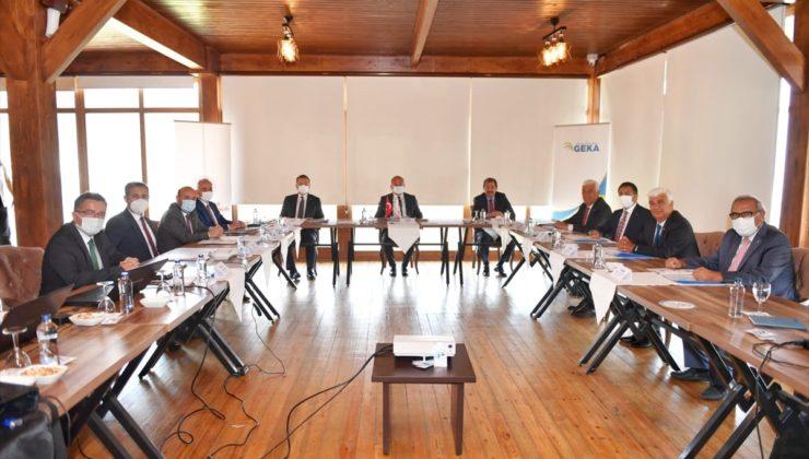 GEKA yönetim kurulu toplantısı Denizli'de yapıldı