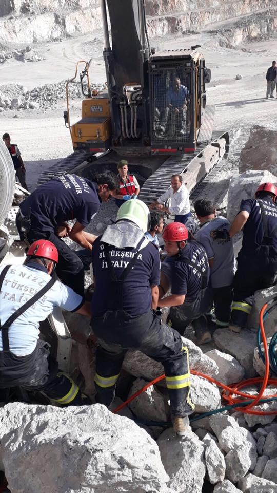 20294008 1508340409223766 2423043416532672495 n - Beton Şantiyesinde Kamyon Kazası: 1 Ölü