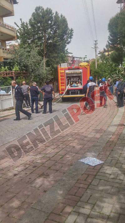 22 52 - Mehmetçik Mahallesi'nde Yangın