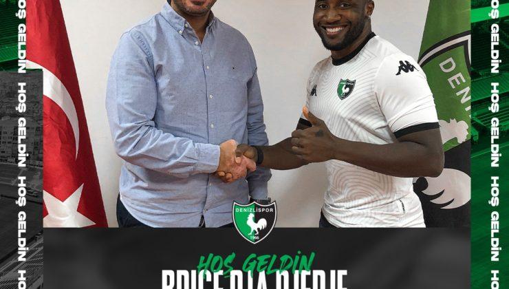 Denizlispor, Fildişi Sahilli futbolcu Brice Dja Djedje'yi transfer etti