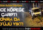 29 Ekim Bulvarı'nda Kaza