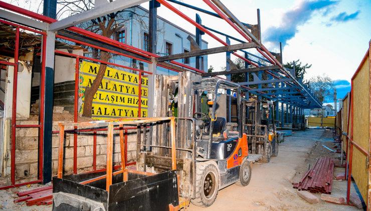 Malatya'da 'Çilesiz' durak yenileniyor