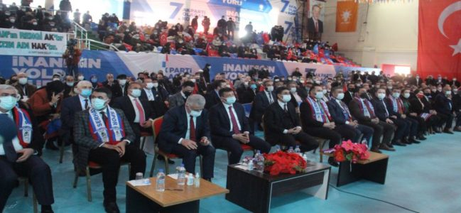 AK Parti 7. Ardahan Olağan Kongresi yapıldı