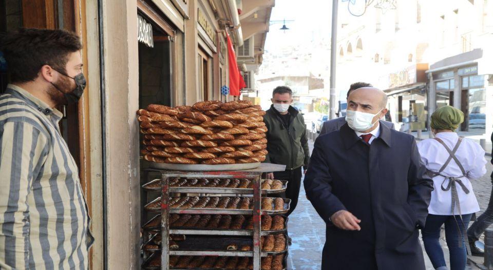 Mardin Valisi Demirtaş'tan esnaf ziyareti