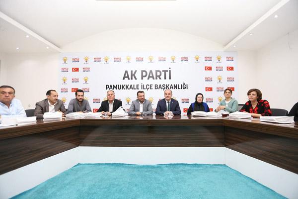 3 1186 - AK Parti Pamukkale İlçe Teşkilatı Yönetim Kurulu Toplantısı