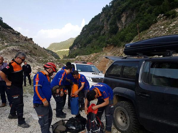 3 1190 - Mantar toplarken kayalıklardan düştü