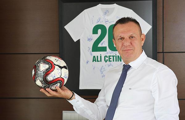 """3 1447 - Denizlispor Başkanı Çetin: """"Süper Lig'de hedefimiz ilk 5"""""""