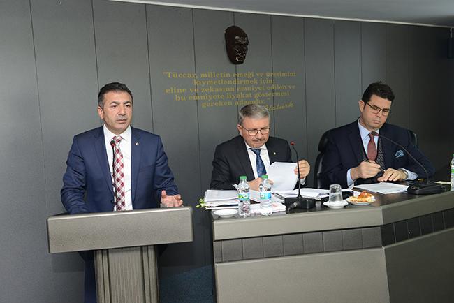 3 226 - Denizli Ticaret Odası Şubat ayı Meclis Toplantısı yapıldı