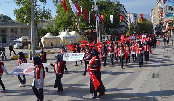 3 348 - Denizli'den vefa yürüyüşü