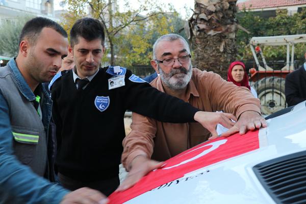 3 659 - Kazada Ölen 15 Temmuz Gazisi'nin Cenazesi İstanbul'a Uğurlandı