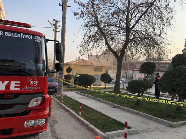 3 991 - Muratdede Mahallesinde Trafo Yangını
