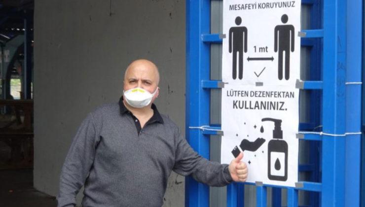 Kocaeli'de Kartepe Ulus Pazarı, 12 Nisan'da yeniden açılıyor